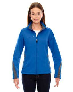 Ladies Escape Bonded Fleece Jacket-Ash City - North End
