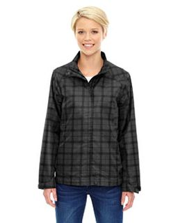 Ladies Locale Lightweight City Plaid Jacket