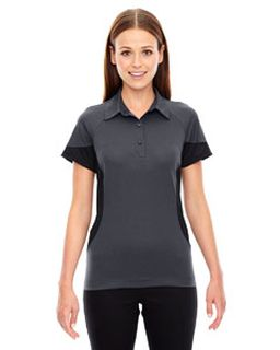 Ladies Refresh Utk Cool'Logik™ Coffee Performance Melange Jersey Polo-Ash City - North End
