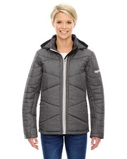 Ladies Avant Tech Melange Insulated Jacket With Heat Reflect Technology-Ash City - North End