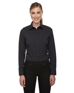 Ladies Melange Performance Shirt-Ash City - North End