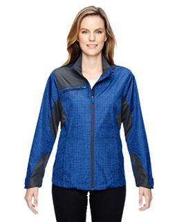Ladies Sprint Interactive Printed Lightweight jacket-Ash City - North End