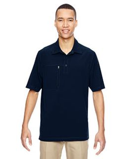 Mens Excursion Crosscheck Woven polo-Ash City - North End