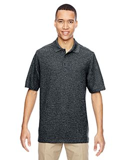 Mens Excursion Nomad Performance Waffle Polo-Ash City - North End