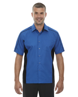 Mens Fuse Colorblock Twill Shirt