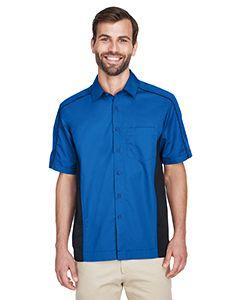 Mens Fuse Colorblock Twill Shirt-