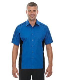 Mens Tall Fuse Colorblock Twill Shirt-Ash City - North End