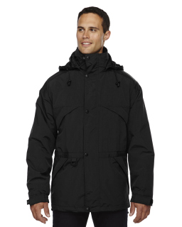 Adult 3-In-1 Parka With Dobby Trim