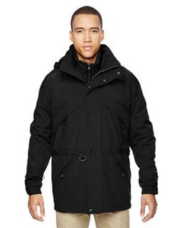 Adult 3-In-1 Parka With Dobby Trim-Ash City - North End