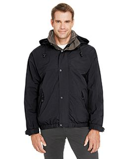 Adult 3-In-1 Bomber Jacket-Ash City - North End