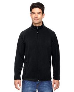 Mens Microfleece Unlined Jacket-Ash City - North End