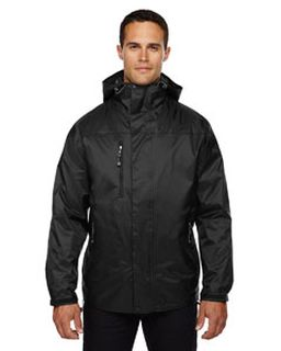 Adult Performance 3-In-1 Seam-Sealed Hooded Jacket-Ash City - North End