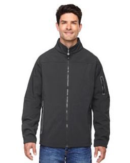 Mens Three-Layer Fleece Bonded Soft Shell Technical Jacket-Ash City - North End