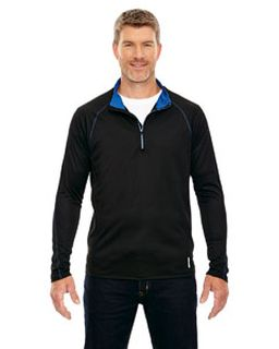 Mens Radar Quarter-Zip Performance Long-Sleeve Top-Ash City - North End