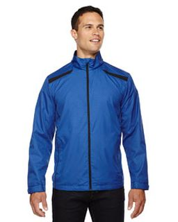 Mens Tempo Lightweight Recycled Polyester Jacket With Embossed Print-