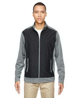 Mens Victory Hybrid Performance Fleece Jacket-Ash City - North End
