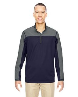 Mens Excursion Circuit Performance Quarter-Zip-Ash City - North End
