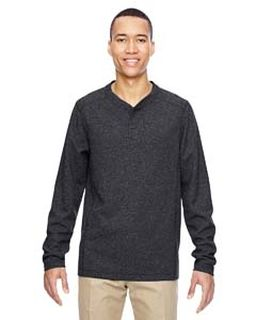 Mens Excursion Nomad Performance Waffle Henley-Ash City - North End