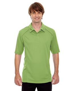 Mens Recycled Polyester Performance Pique Polo-Ash City - North End