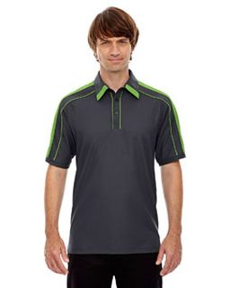 Mens Sonic Performance Polyester Pique Polo-Ash City - North End