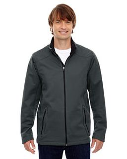 Mens Splice Three-Layer Light Bonded Soft Shell Jacket With Laser Welding-Ash City - North End