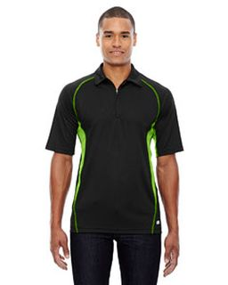 Mens Serac Utk Cool'Logik™ Performance Zippered Polo-Ash City - North End