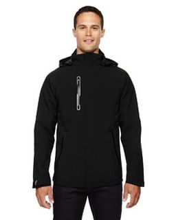 Mens Axis Soft Shell Jacket With Print Graphic Accents-Ash City - North End