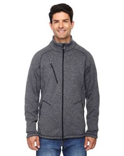Mens Peak Sweater Fleece Jacket-Ash City - North End