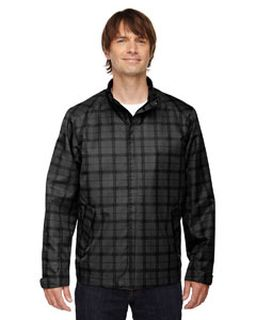 Mens Locale Lightweight City Plaid Jacket-Ash City - North End