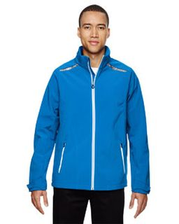 Mens Excursion Soft Shell Jacket With Laser Stitch Accents-