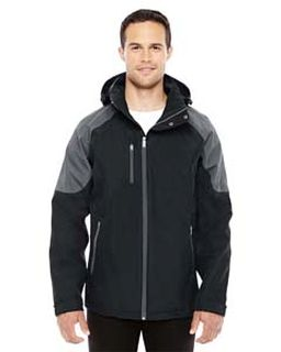 Mens Impulse Interactive Seam-Sealed Shell-Ash City - North End