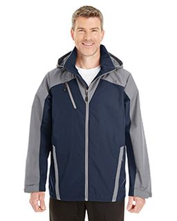 Mens Embark Interactive Colorblock Shell With Reflective Printed Panels-Ash City - North End