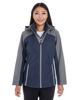 Ladies Embark Interactive Colorblock Shell With Reflective Printed Panels