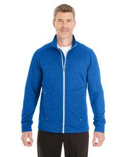 Mens Amplify Melange Fleece Jacket