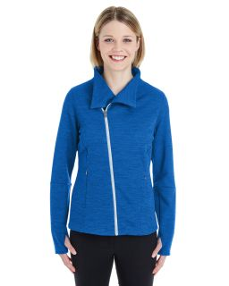 Ladies Amplify Melange Fleece Jacket