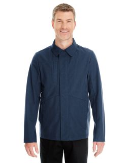 Mens Edge Soft Shell Jacket With Fold-Down Collar
