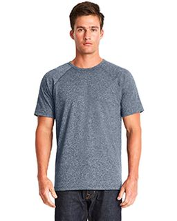 Mens Mock Twist Raglan T-Shirt-Next Level
