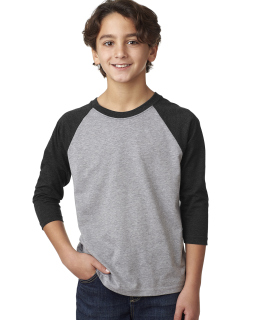 Youth Cvc 3/4-Sleeve Raglan-