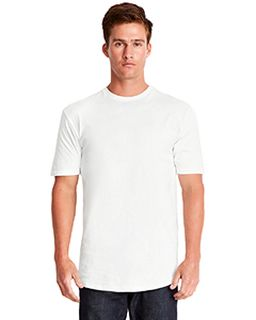 Mens Cotton Long Body Crew-