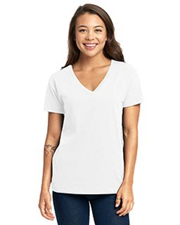 Ladies Relaxed V-Neck T-Shirt-