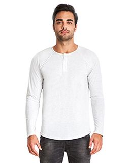 Mens Triblend Long-Sleeve Henley