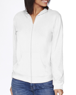 Adult Sueded Full-Zip Hoody-