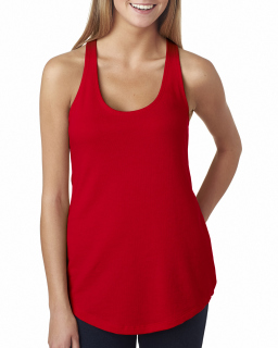 Ladies French Terry Racerback tank-