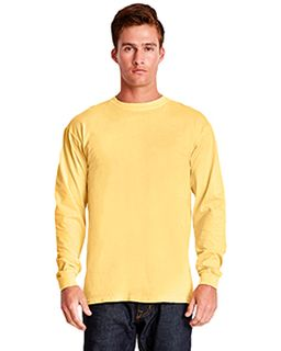 Adult Inspired Dye Long-Sleeve Crew-Next Level