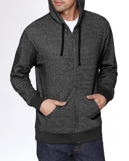 Adult Denim Fleece Full-Zip Hoody-Next Level