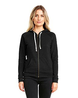 Ladies Pch Raglan Zip Hoody-