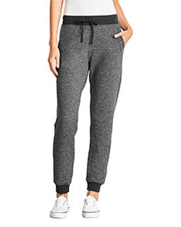 Ladies Denim Fleece Jogger Pant-