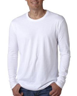 Mens Cotton Long-Sleeve Crew-