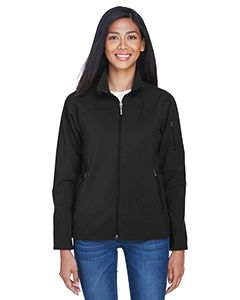Ladies Three-Layer Fleece Bonded Performance Soft Shell Jacket-