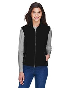 Ladies Three-Layer Light Bonded Performance Soft Shell Vest-North End